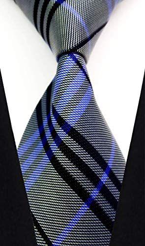 632099bbd9e6 mens Classic Tie Necktie Plaid Neck Ties For Men Stripe Neck Tie