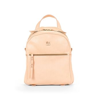 c1b5a703c9dc7 Buy Woman s Backpack Lungarno in Cowhide Leather A2607 (color Natural) in  the Il Bisonte