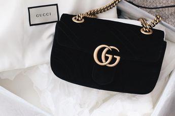 6cc215c7101a Gucci Bag on saansh.com Gucci Marmont Velvet Bag black #Guccihandbags