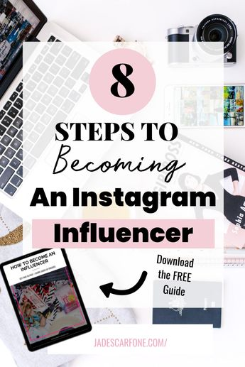 You've probably wondered how people get paid to post on Instagram plus get lots of free stuff? Download my FREE guide which breaks down the 8 steps it takes to getting started as an Instagram Influencer.