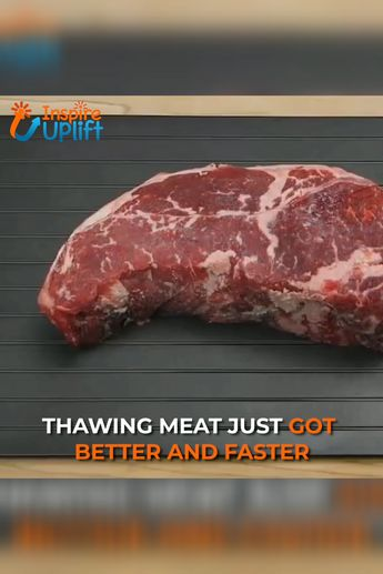Fast Defrosting Tray For Frozen Foods 😍  The Fast Defrosting Tray For Frozen Foods allows you to thaw out your frozen meat and food quickly and naturally. It's perfect for thawing out meat in just minutes and defrosting smaller food items, such as burgers, sausages, prawns and bacon is even faster!  Currently 50% OFF with FREE Shipping!