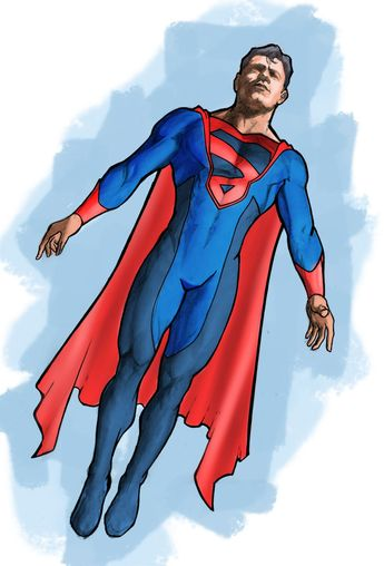 Superman Redesign by ezy-e on DeviantArt