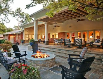 40 Stunning Backyard Patio Remodel Design
