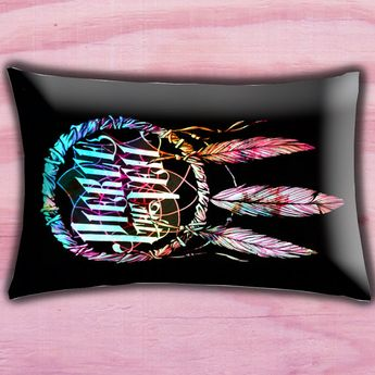 Dream Catcher Pierce The Veil Pillow Cover Pillow by golekciksek, $15.00