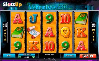 Alchemist's Spell Slot by Playtech ➤ Play FREE at SlotsUp!