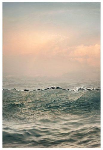 Sea wave art Large Seascape art Coastal landscape photography, Ocean print Large wall art Water phot