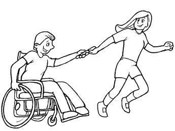 3 Aralık Dünya Engelliler Günü Boyama Sayfaları Gazetesujin