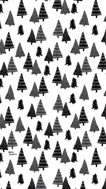 """[Freebies] Des fonds d'écran """"Fox & Tree"""" pour passer l'hiver"""