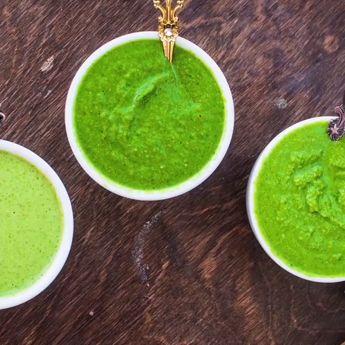 Green Coriander Chutney Recipe – 3 Ways | Hare Dhaniye Ki Chutney