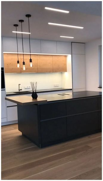 40+ Black Kitchen Design Ideas with White Color Accent » Homedecorsidea.info
