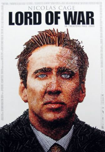 Lord Of War, starring Nicolas Cage, with Jared Leto, Bridget Moynahan, Ethan Hawke, Eamonn Walker and Ian Holm. Written and directed by Andrew Niccol. ($24.99)