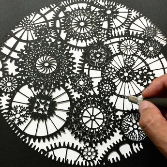 Intricately Detailed Papercut Designs Reflect Beauty of the Natural World 3f0a051164ab