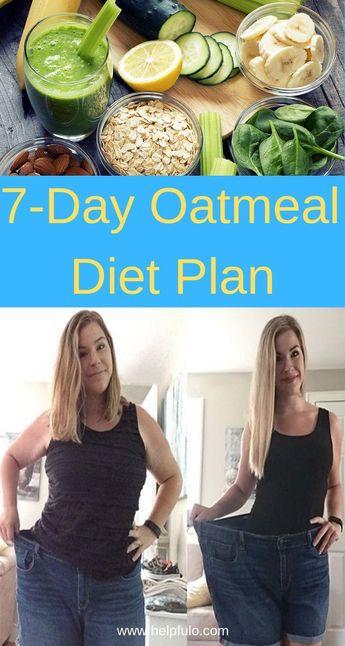 7-Day Oatmeal Diet Plan