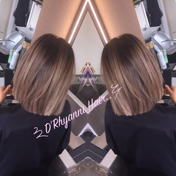 Blunt cut lob with bayalage ...we love this