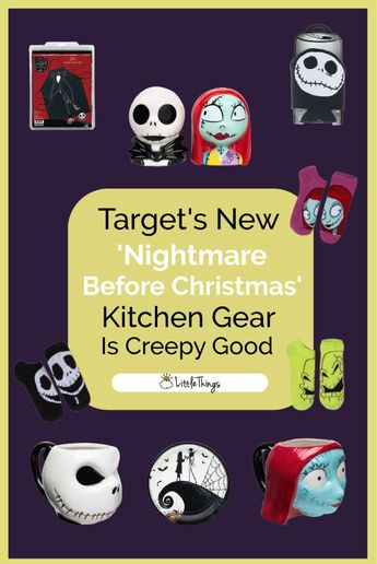 Target Has Creepiest 'The Nightmare Before Christmas' Gear For Kitchens Before Halloween