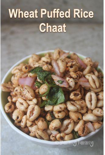 Puffed Wheat Chaat