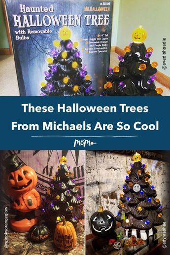 People Are Obsessed With These Halloween Trees From Michaels: In case you missed it, people's enthusiasm over discovering these black ceramic Halloween trees are dominating social media.
