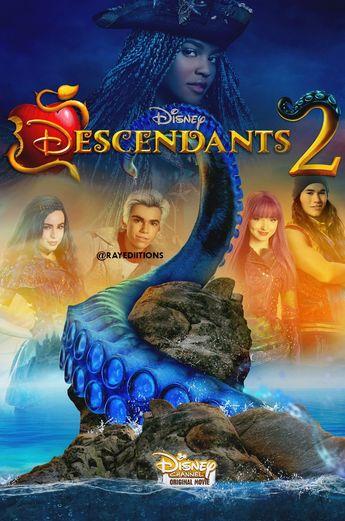 Descendants 2 Dove Cameron As Mal Sofia Carson As Evie Booboo Stewart As Jay Cameron Boyce