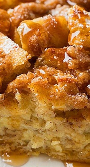 Overnight French Toast Casserole - Cooking Classy Overnight French Toast Casserole