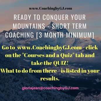 "Ready for Short Term COACHING?? Are You Out of Control?  bit.ly/2s2IsYi  or www.coachingbyGJ.com - ->Click ""Courses and a Quiz link😊 #gjtips #efficiency #productivity #timemanagement #coachingbygj #email #procrastination #planning #scheduling"