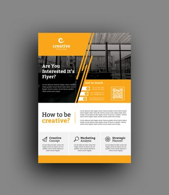 Zurich Professional Business Flyer Template - Graphic Templates