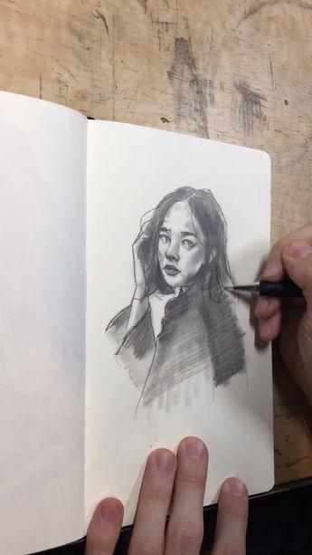 Experimenting in my sketchbook