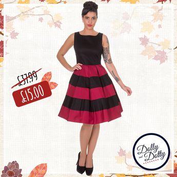 ba44d341a2a Annie Retro Meadow Floral Print Swing Dress in Burgundy