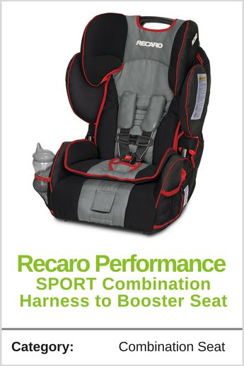 Recaro Performance SPORT Combination Harness to Booster Seat - Beenke