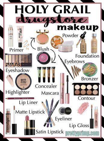Holy Grail Drugstore Makeup: 20 Best Drugstore Makeup & Beauty Items