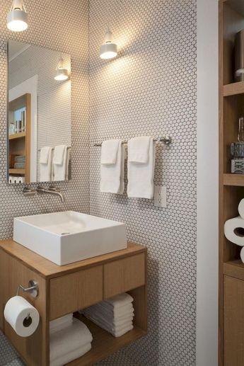25+ Awesome Scandinavian Bathroom Design Ideas