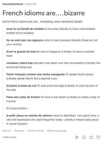 19 Bilder, von denen du Albträume bekommst, wenn du in der Schule Französisch hattest