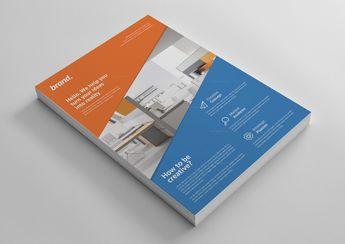 Creative Interior Design Flyer Template - Graphic Templates