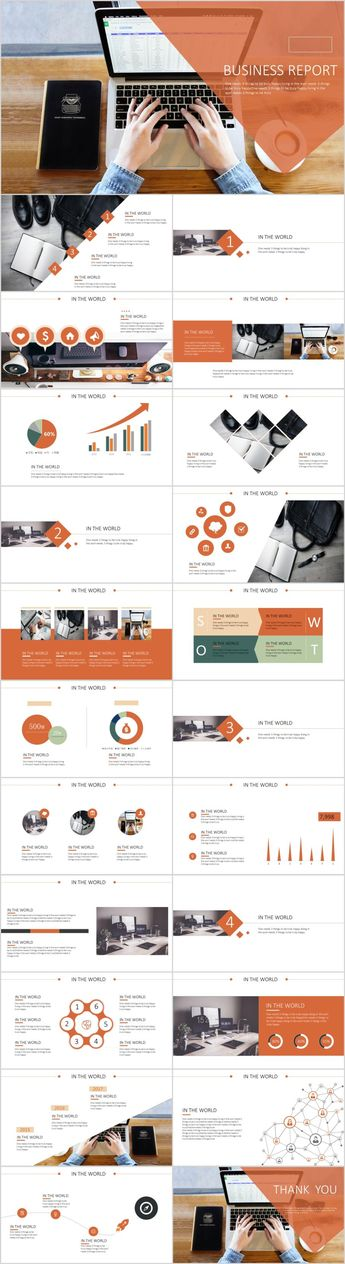 23+ swot business report PowerPoint templates