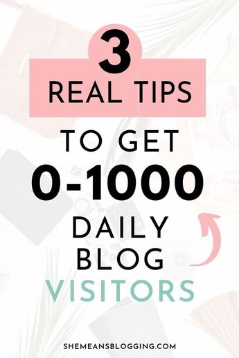 Blog Traffic For Beginners - How To Get 0-1000 Daily Blog Readers