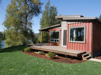 Shipping container home De Lux