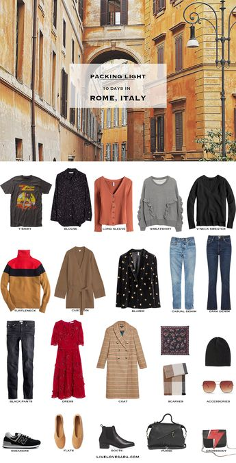 What to Pack for Rome in Winter