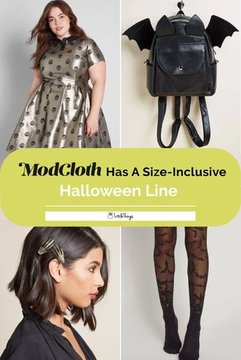 ModCloth Has A Size-Inclusive Halloween Line Fit For Goth Queens