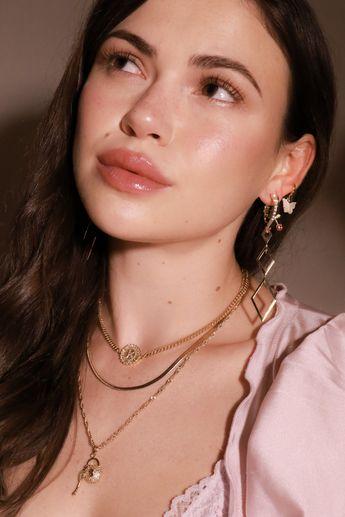 Pearl Butterfly Earrings