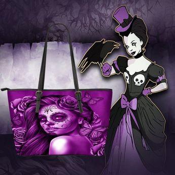bad127f8c173 Calavera Design  2 (Purple) Accessorize Yourself Bundle  2 - 1 Large Vegan