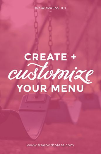 Create WordPress Menu - Customize Your WordPress Menu, How to add pages, categories, and links to your WordPress Menu, blogging tips, wordpress tips