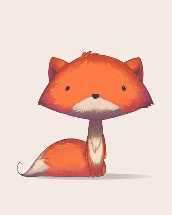 Fox, an art print by Danny Dufford