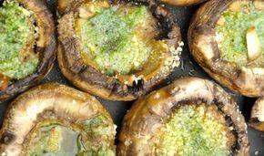 Comment cuire des champignons à la plancha