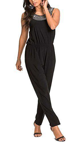 86adebba9319 GenericWomen Generic Women Sleeveless Crew Neck Long Jumpsuit Clubwear  Romper