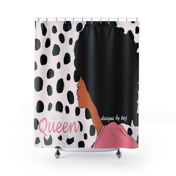 Leopard Diva Queen Shower Curtain