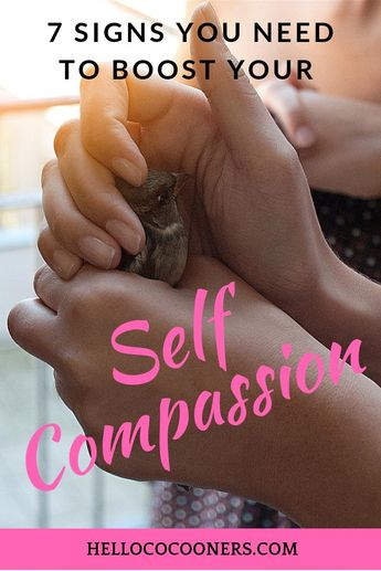 If you've been reading up on self care, you might have encountered the word self-compassion. We all can use some extra self-compassion but what are the signs you really need a boost? Find out how to recognize when you are low in self-compassion so you can give yourself a boost! #selfcompassion #selflove #selfcare
