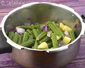 Drumstick Soup, Veg Drumstick Soup