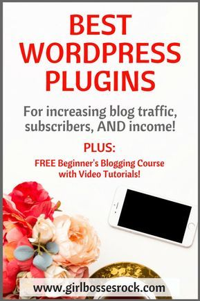 4 Must-Have Wordpress Plugins to Increase Blog Traffic and Subscribers