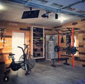The happy place. Is your happy place a home gym?