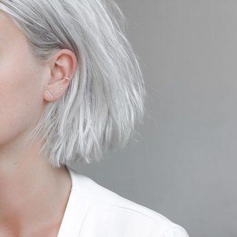 """StillWithYou auf Instagram: """"White with silver details / Uneven line and Minim"""