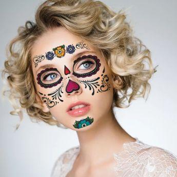 (50%OFF)Halloween Waterproof Temporary Tattoo Sticker—Buy 2 sets